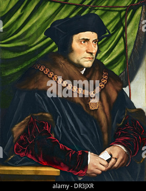 Sir Thomas More, English lawyer, social philosopher, author and statesman - Stock Photo