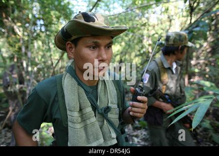 Karen National Union KNU rebels rebel Birma - Stock Photo