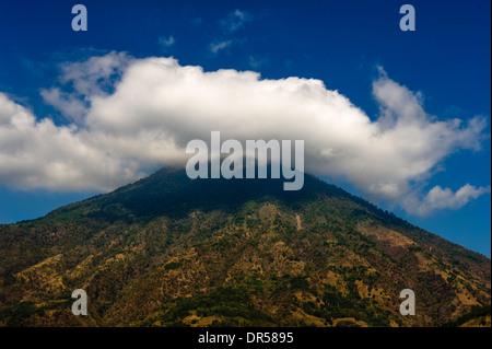 San Pedro volcano, Guatemala - Stock Photo