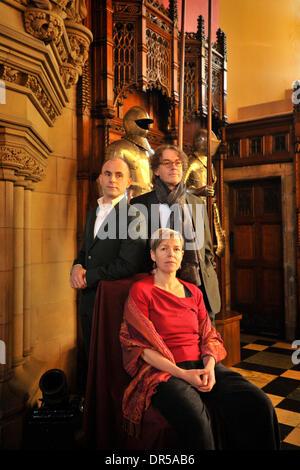 Edinburgh, UK. 20th Jan, 2014. The National Theatre of Scotland, the Edinburgh International Festival and the National - Stock Photo