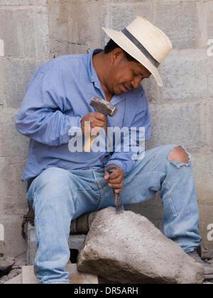 Mar 29, 2009 - Santiago Atitlan, Solola, Guatemala - Workers in santiago Atitlan, Solola, Guatemala (Credit Image: - Stock Photo