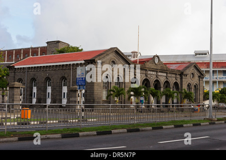 Historic Postal Museum, Port Louis, Mauritius. Construction started in 1865 and inaugurated in 1868. - Stock Photo