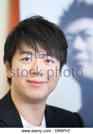Close-up of Lang Lang 12 june 2012 - Stock Photo
