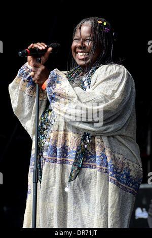 Randy Crawford & The Joe Sample Trio Hop Farm Music Festival 2012 - Day 2 Paddock Wood, Kent - 30.06.12. - Stock Photo