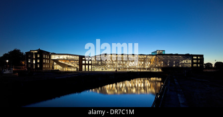 Exterior view of The Culture Yard, Elsinore, Denmark - Stock Photo