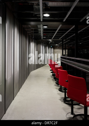 Interior view of The Culture Yard, The Theatre, Elsinore, Denmark - Stock Photo