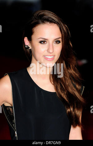 London, UK. 20th Jan, 2014. Lucy Watson  attends the UK Premiere of ' Jack Ryan: Shadow Recruit'  at the Vue  London - Stock Photo