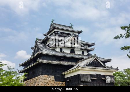 Matsue Castle, Matsue, Shimane Prefecture, Japan - Stock Photo