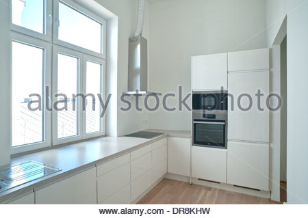 Wien, sanierter Altbau Boltzmanngasse 20 - Stock Photo