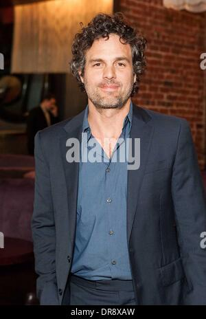 Mark Ruffalo attends the Empowered By Light event at Roe Nightclub San Francisco, California - 21.06.12 - Stock Photo