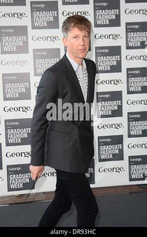 Jefferson Hack Graduate Fashion Week 2012 -  Gala Show held at Earls Court- Arrivals London, England - 13.06.12 - Stock Photo