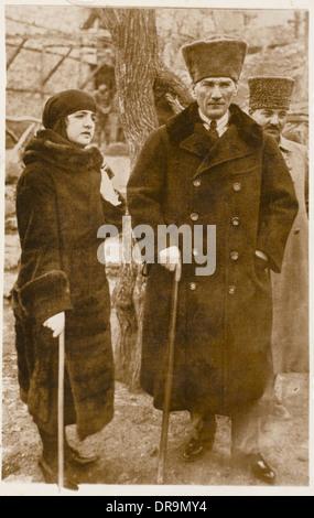 Mustafa Kemal Ataturk (1881 - 1938) - Stock Photo