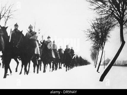 Masurian Lakes 1915 - Stock Photo