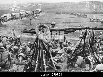 Battle of Verdun 1916 - Stock Photo