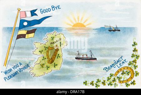 Ireland - Greetings Card - Stock Photo
