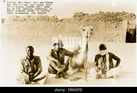 Mali - Team who crossed Sahara in 16 months - Stock Photo