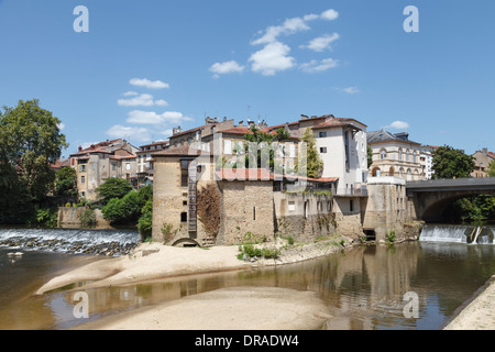 the confluence of the douze and midou rivers at mont de marsan stock photo royalty free image. Black Bedroom Furniture Sets. Home Design Ideas