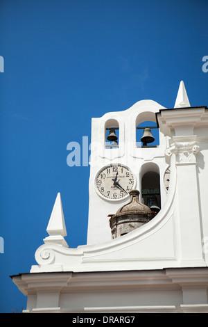 Detail of Chiesa di Santa Sofia, Anacapri - Stock Photo