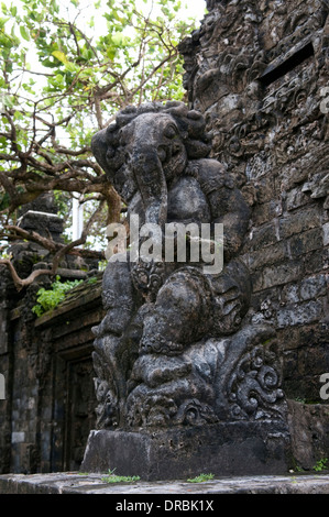 Sculpture at Uluwatu Temple, Bali, Indonesia - Stock Photo
