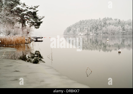Vintage Winter Wonderland - Stock Photo