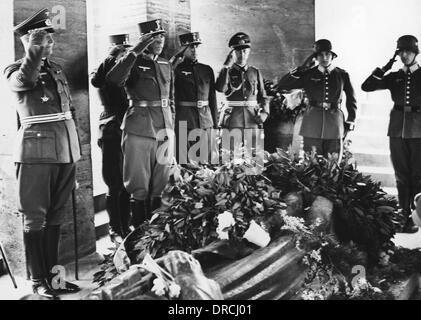 Austrian officers - Anschluss - Stock Photo