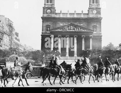 French mobilisation WWII - Stock Photo