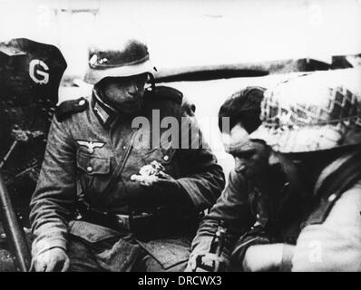 German soldiers WWII - Stock Photo