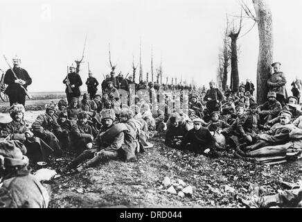 Russian prisoner WWI - Stock Photo