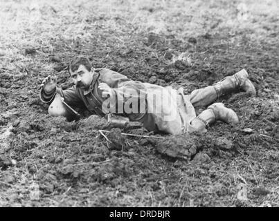 German prisoner WWI - Stock Photo