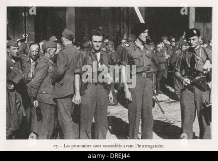 The French Resistance - WWII (3/3) - Stock Photo