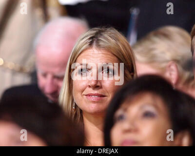 Princess Maxima of the Netherlands,  during the opening ceremony of the London 2012 Olympic Games at the Olympic - Stock Photo
