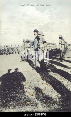Lord Kitchener in Khartoum, Sudan - Stock Photo