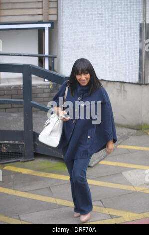 London, UK. 24th January 2014. Presenters and guests Loose  Women ITV studios London 24/01/2014 Credit:  JOHNNY - Stock Photo