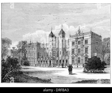 Kneller Hall Whitton, in west London Circa 1880 - Stock Photo
