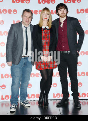 London, UK. 24th January 2014.  attends the World Premiere of 'Benny & Jolene' at BFI Southbank on January 24, 2014 - Stock Photo