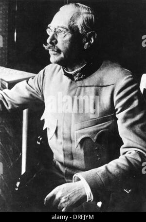 General Viktor Dankl von Krasnik, Austro-Hungarian Army - Stock Photo