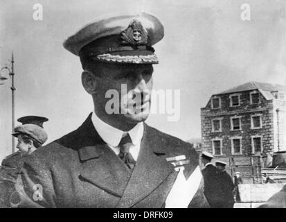 Commander E.R.G.R. Evans of HMS Broke - Stock Photo