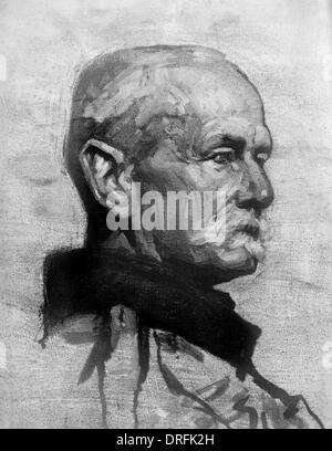 Field Marshal Sir John French, British Army officer - Stock Photo