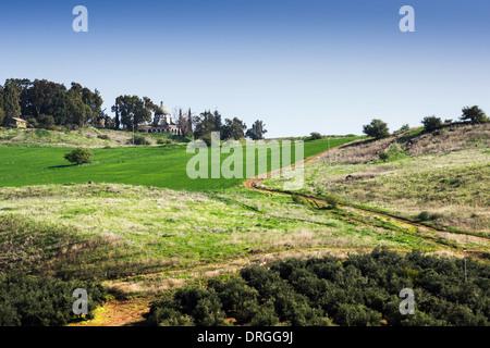 Basilica of the Beatitudes, Israel - Stock Photo