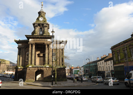 Town Hall at Burslem Stoke on Trent Staffordshire UK - Stock Photo