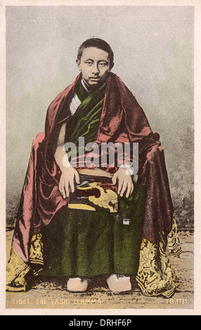 The Chief Lama of Tashi Lumpo - Stock Photo