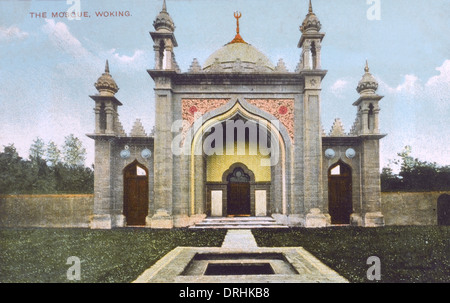The Shah Jahan Mosque, Woking, Surrey - Stock Photo