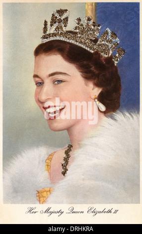 HRH Queen Elizabeth II - Stock Photo
