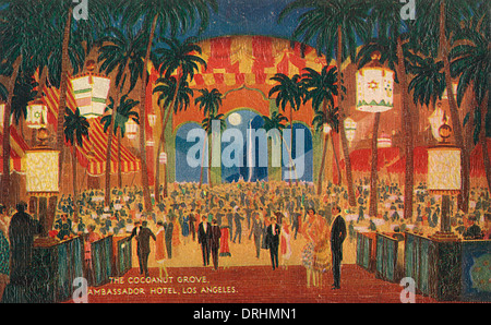 Cocoanut Grove, Ambassador Hotel, Los Angeles, USA - Stock Photo
