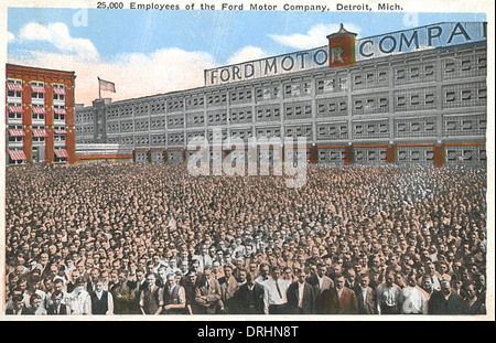 Industry automobile industry usa detroit ford works for Ford motor company usa