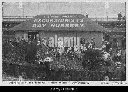 The 'Mary Willett' Excursionists Day Nursery, Southport - Stock Photo