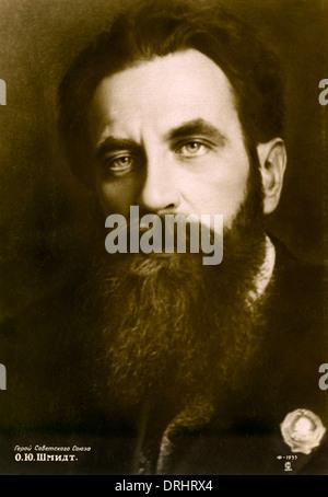 Otto Yulyevick Schmidt - Soviet Scientist, Mathematician - Stock Photo