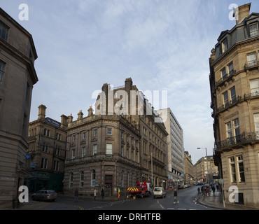 Victorian Architecture Of Bradford City Centre Bradford West Stock