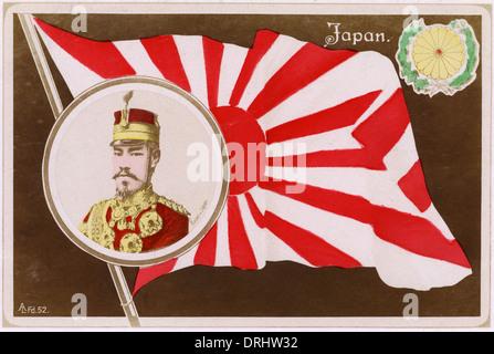 Emperor Meiji of Japan - Stock Photo