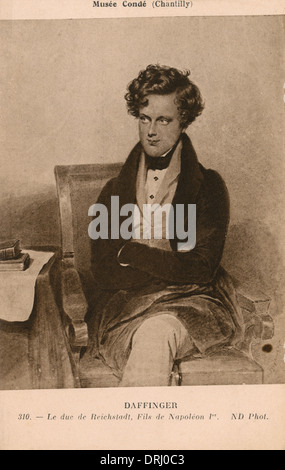 Napoleon II by Moriitz Michael Daffinger - Stock Photo
